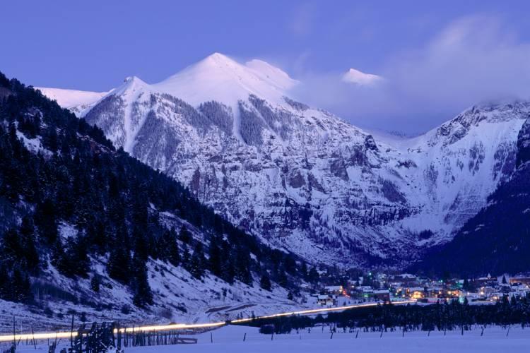 Telluride in the Winter